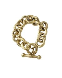 Vaubel - Metallic Link Chain Bracelet - Lyst