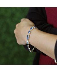 Irene Neuwirth - Blue Mixed Shape Fine Aquamarine Bracelet - Lyst