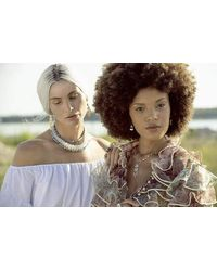 Irene Neuwirth Multicolor Opal Bead Necklace