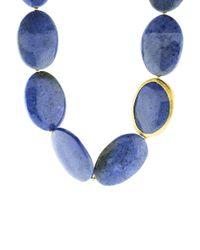 Yossi Harari | Blue Demortorite Bead Necklace | Lyst