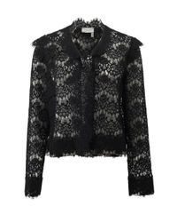 Lanvin | Black Lace Jacket | Lyst