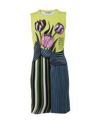 Mary Katrantzou | Green Jersey Dress | Lyst