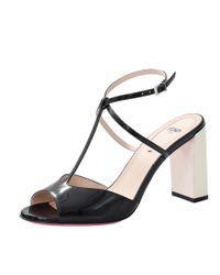 Fendi - Black Beyond T-strap Sandal - Lyst