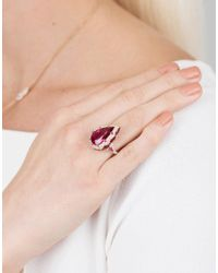 Inbar - Multicolor Pear Shape Ring - Lyst