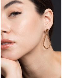 Yossi Harari Lilah Brown-diamond Drop Earrings