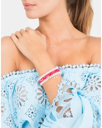 Sydney Evan | Red Bright Coral Bracelet | Lyst