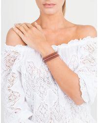 Carolina Bucci - Brown Twister Band Bracelet - Lyst