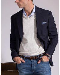 Brunello Cucinelli Brown Braided Leather Belt for men