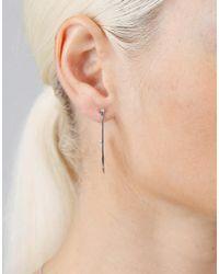 Dana Rebecca - Metallic Lulu Jack Hoop Earrings - Lyst