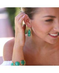 Irene Neuwirth - Green Rose Cut Chrysoprase Earrings - Lyst