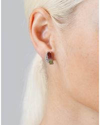 Dana Rebecca - Multicolor One Of A Kind Watermelon Stud Earrings - Lyst