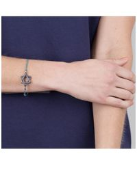 Boaz Kashi - Metallic Star Of David Diamond Bracelet - Lyst