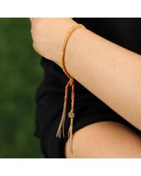 Carolina Bucci Orange Happiness Lucky Bracelet