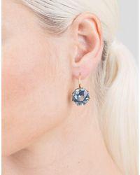 Sylva & Cie - Blue Topaz Earrings - Lyst