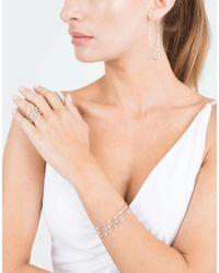 Mattia Cielo   Metallic Rugiada Diamond Hoop Earrings   Lyst