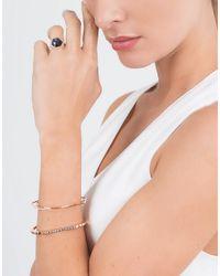 Monique Péan - White Diamond Step Baguette Cuff - Lyst