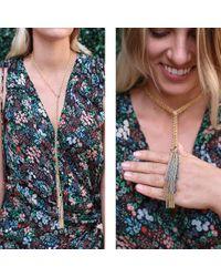 Carolina Bucci Multicolor Lucky Chain Lariat