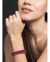 Carolina Bucci Brown Twister Band Bracelet