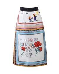 Dolce & Gabbana Multicolor Silk Child