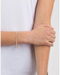 Irene Neuwirth Pink Rose Cut Rainbow Moonstone Bracelet