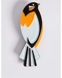 Marks & Spencer | Multicolor Resin Bird Brooch | Lyst