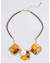 Marks & Spencer - Metallic Explorer Statement Collar Necklace - Lyst