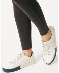 Marks & Spencer - Gray Brushed Back Leggings - Lyst