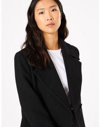 Marks & Spencer Black Short Pea Coat