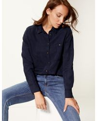 Marks & Spencer Blue Long Sleeve Shirt