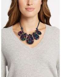 Marks & Spencer - Multicolor Mixed Teardrops Necklace - Lyst