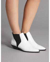 Marks \u0026 Spencer Leather Western Ankle