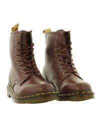 Dr. Martens - Brown Unisex 1460 Vegan 8 Eyelet Boots for Men - Lyst