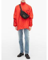 メンズ Balenciaga エクスプローラー ベルトバッグ Multicolor
