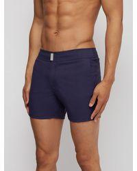Short de bain à motif pied-de-poule Minise Vilebrequin pour homme en coloris Blue
