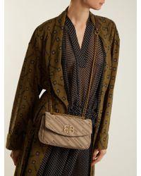 Balenciaga Natural Bb Round S Bag