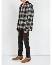 Amiri Brown Western Chain Boots for men