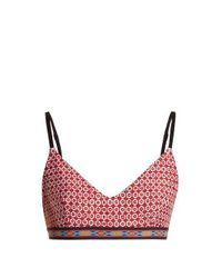 The Upside Red Diego Performance Bra