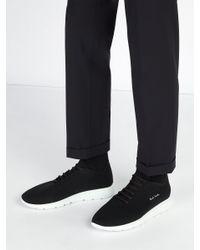 Baskets basses effet chaussette Gear Paul Smith pour homme en coloris Black