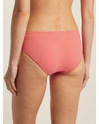 Araks Pink Lisellot Cotton Briefs