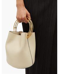 Pleats Please Issey Miyake Black Tie Waist Pleated Midi Skirt