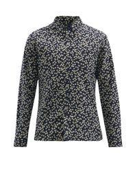 メンズ Oliver Spencer New York Special フローラル コットンシャツ Multicolor