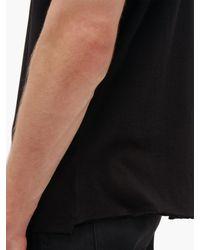 T-shirt en coton Lover Boy Saint Laurent pour homme en coloris Black
