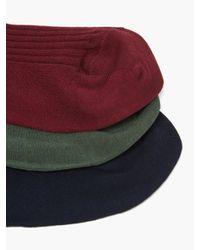 メンズ London Sock Company カラー バンドル コットンブレンドソックス X7 Multicolor