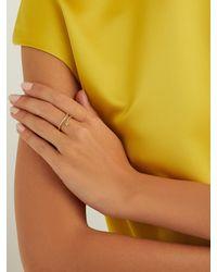 Ileana Makri Metallic Python Diamond & 18kt Gold Ring