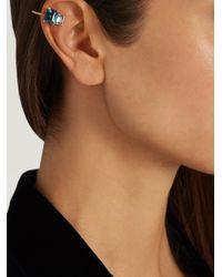 Loren Stewart | Blue Topaz & Yellow-gold Ear Cuff | Lyst