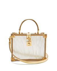 Dolce & Gabbana ドルチェボックス バッグ Metallic