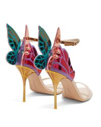 Sophia Webster - Multicolor Chiara Butterfly-wing Leather Sandals - Lyst