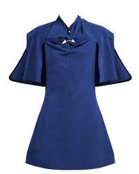 Ellery Holly Of Hollies カットアウトミニドレス Blue