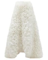 Emilio Pucci X Tomo Koizumi チュールマキシスカート White