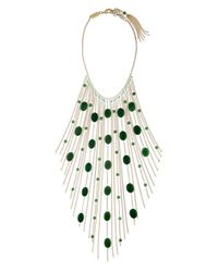 Rosantica By Michela Panero - Metallic Santa Barbara Fringe Necklace - Lyst